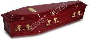 Cheaper Wooden Coffin for The Australian Funeral (HT-0802)