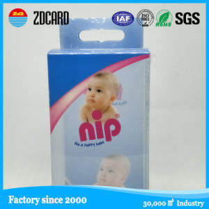 OEM Design Factory Price Hair Extension Packaging Box with Plastic Window pictures & photos