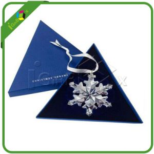 Decorative Custom Triangle Paper Jewelry Boxes for Gift pictures & photos