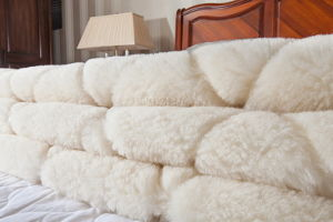 Pure Australian Wool Ultimate Fleece Reversible Mattress Topper pictures & photos