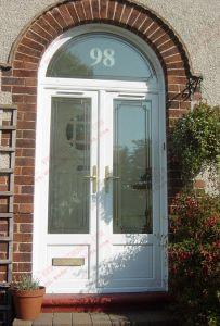 Professional Manufacturer of Arch PVC Door (BHP-CDA04) pictures & photos