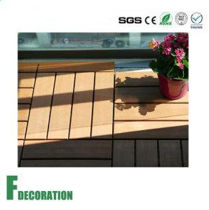 Sun Proof Anti UV DIY Plastic Wood Composite WPC Decking pictures & photos