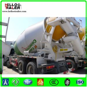 HOWO 6X4 8cbm Concrete Mixer Truck pictures & photos