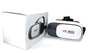 Vr Box 2 Virtual Reality Headset 3dglass with Bluetooth Handle Controller pictures & photos