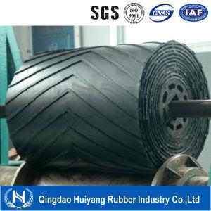 Manufacturer High Quality Chevron Conveyor Belt/Rubber Conveyor Belt for Industrial pictures & photos