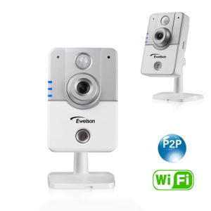 H. 264 Compression 10m IR View Icloud WiFi Network Camera (Q4)