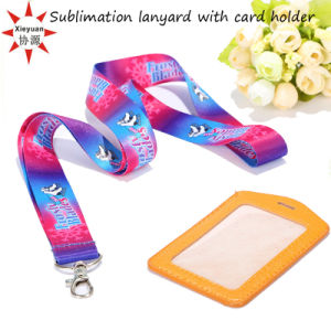 High Quality ID Card Sublimation Lanyard pictures & photos
