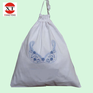 White Laundry Drawstring Bag (FLY-SS70002) pictures & photos