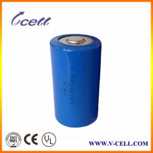 Er34615m Primary Lithium Battery 3.6V 20mA High Capacity Battery