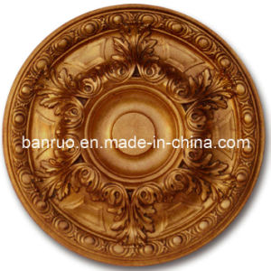 Sales The First PU Ceiling Medallion for Interior Decoration (PUDP12-60-F0) pictures & photos