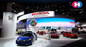 Curve LED Display for Autoshow Booth pictures & photos