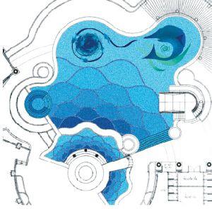 swimming pool mosaic art design