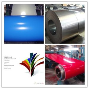PPGL Color Coated Prepainted Steel Sheet in Coil for Building pictures & photos