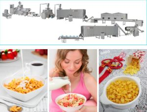 High Capacity Corn Flakes/Breakfast Cereals Processing Line pictures & photos