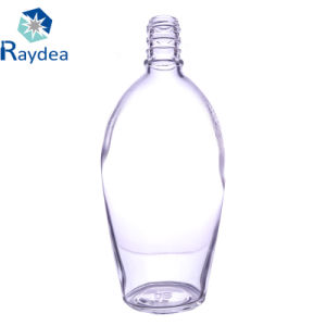 700ml Whisky Clear Glass Bottle pictures & photos