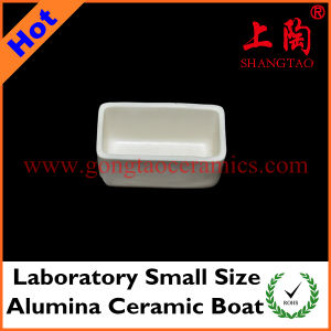 Laboratory Small Size Alumina Ceramic Boat pictures & photos