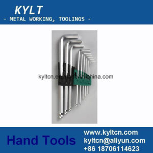 9/10PS Set Chrome Plated Ball End Allen Key pictures & photos