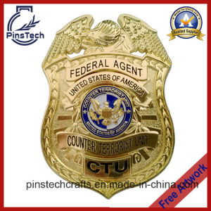 Ctu Badge, Counter Terrorist Unit Badge, Custom 3D Badge pictures & photos