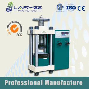Building Material Hydraulic Compression Testing Machine (JYS-2000) pictures & photos