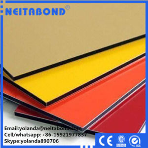 PVDF Unbreakable Alucobond′s Aluminium Composite Material Acm Panel with 20 Years Warranty pictures & photos