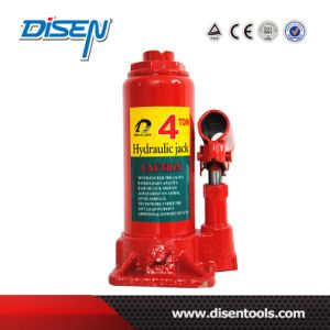CE Approved 4 Ton Nodular Cast Iron Hydraulic Bottle Jack