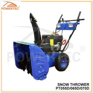 Powertec 4-Stroke CE/Eurd-2 5.5/6.5/7HP Gasoline Snow Thrower CE/Eurd-2 (PT055D/065D/070D) pictures & photos