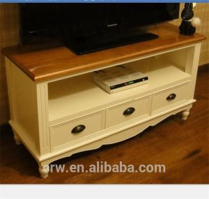 Wh-4103 Low Price White Wooden TV Cabinet pictures & photos