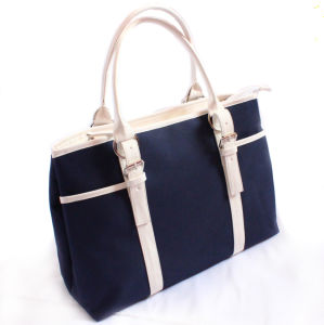 Cheapest Cotton Fabric Handbags Custom Color pictures & photos