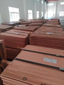 Copper Cathodes 99.99% Purity in Copper / Copper Scrap for Sale pictures & photos