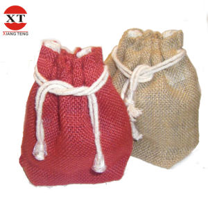 Jute Drawstring Gift Bags (FLY-SS70003) pictures & photos