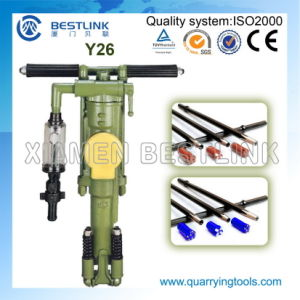 Portable Mini Rock Drill Machine Rock Drill Hammer Y26 pictures & photos