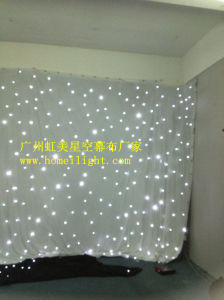 2017 Newest White LED Star Cloth / Curtain for Wedding Stage Show pictures & photos