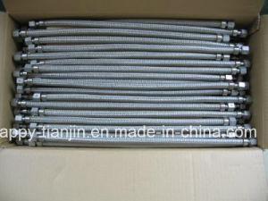 PTFE Lined Ss304 Wire Braid SAE100 R14 Hydraulic Hose pictures & photos