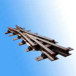 50kg/M 6.5# Alloy Steel Assembled Frog for Railway Turnout pictures & photos