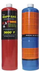 99.9% Purity Mapp Gas 16oz 453.6g for Wholesale pictures & photos