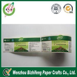 2014 Roll Food Packaging Sticker Paper Sticker