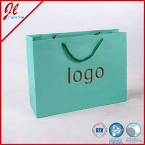 Custom Recycled Paper Shopping Bags with Printing Logo pictures & photos
