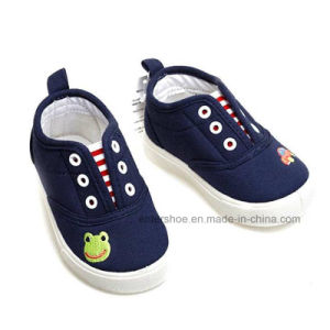 Cute Comfort Canvas Toddler Baby Shoes (ET-WT170442K) pictures & photos