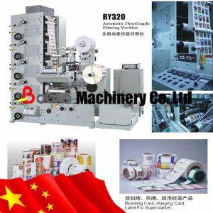 Whiskey Label Printing Machine pictures & photos