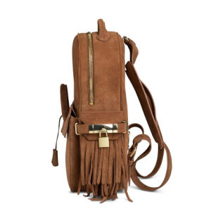 Wholesale Cheap Handbags Manufactory Women Bag Leather Backpack (LD-1105) pictures & photos