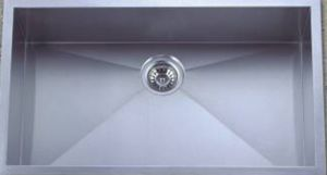 Handmade Square Stainless Steel Kitchen Sink (KHS3018) pictures & photos