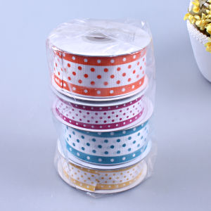 Dots Printing Ribbon in Poly Bag Packing pictures & photos