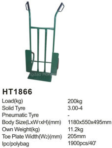 Heavy Duty Multi-Use China Ht1866 Hand Truck/Hand Trolley pictures & photos