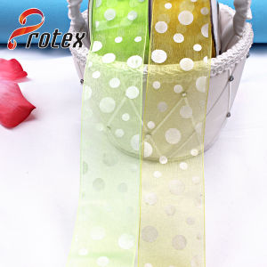 Organza Sanding Ribbon pictures & photos