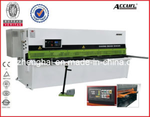 Accurl Brand Hydraulic Metal Shearing Machine QC12y-4X5000 E21 for Cutting Sheet Meta Plate pictures & photos
