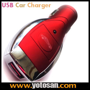 High Quality USB Car Charger with 6in1 Flexible USB Charging Cable pictures & photos