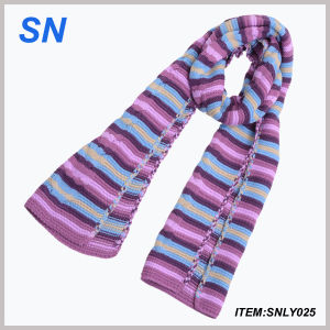 Fashion Striped Long Scarf for Ladies pictures & photos