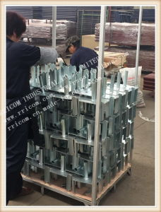 Scaffolding Jack Parts Formwork Props Steel Forkhead Jack Scaffolding Forkhead pictures & photos