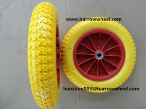 300-8 PU Wheel for Wheel Barrow pictures & photos