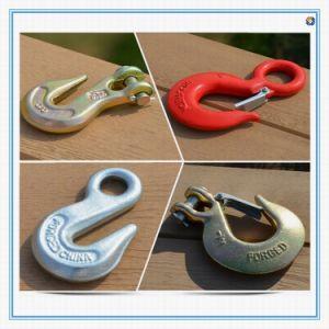Drop Forged Carbon Steel Swivel Hooks Eye and Grab Hooks pictures & photos